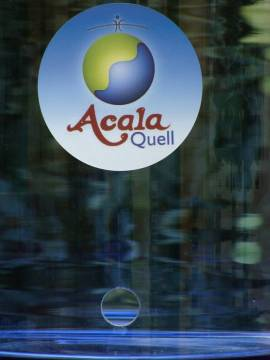 Aufkleber für den AcalaQuell®  - Bild vergrößern