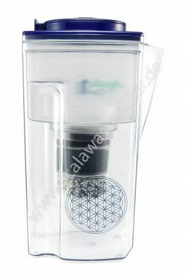 Acala Quell One - Wasserfilter dunkelblau - Bild vergrößern