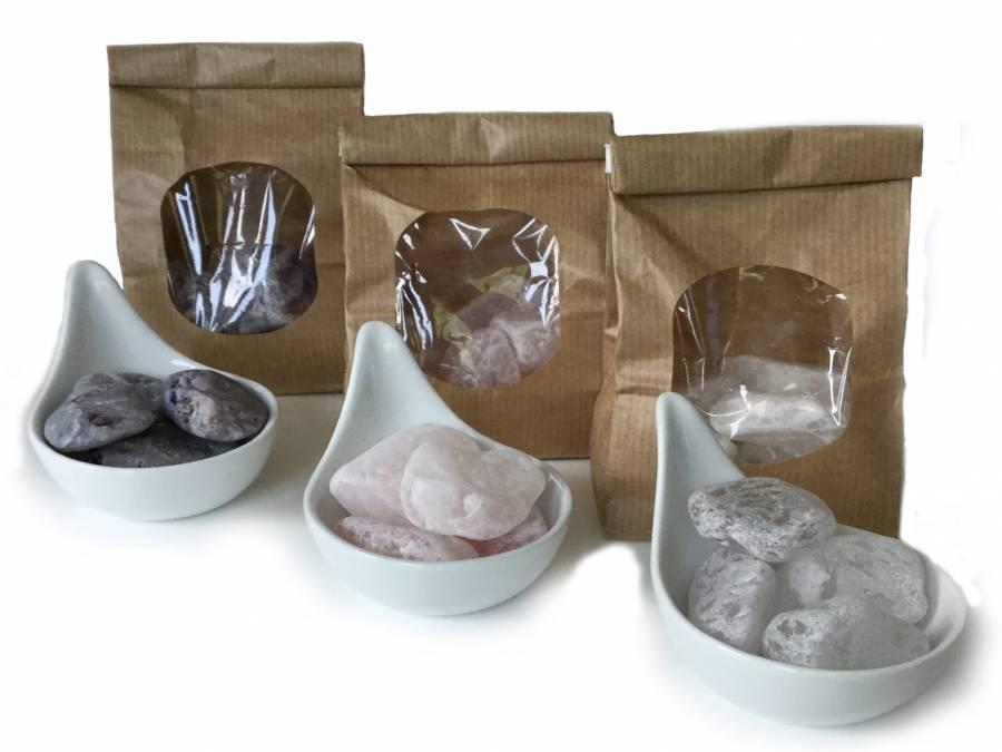 Acala Wassersteine - 3er Set