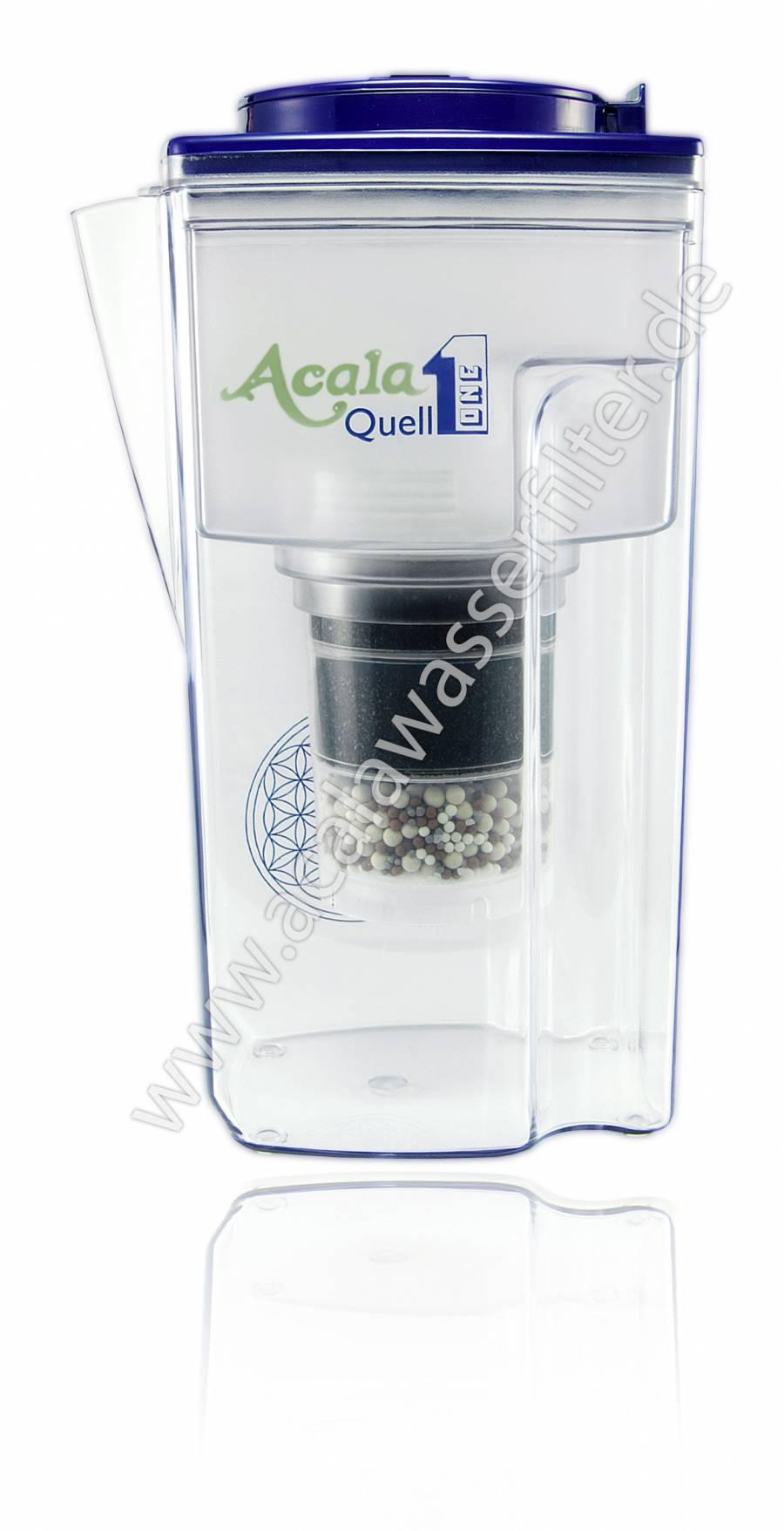 Acala Quell One - Wasserfilter dunkelblau