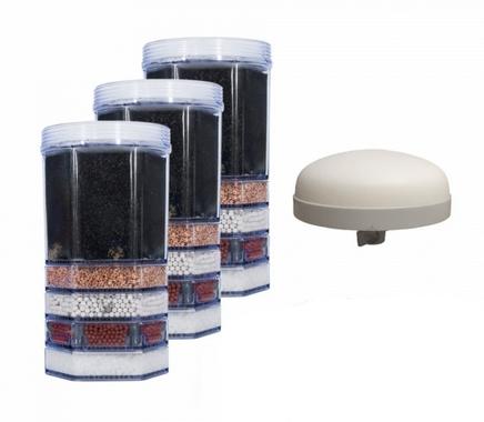 Jahrespaket Filtersatz für AcalaQuell® Mini ohne Mineralsteine