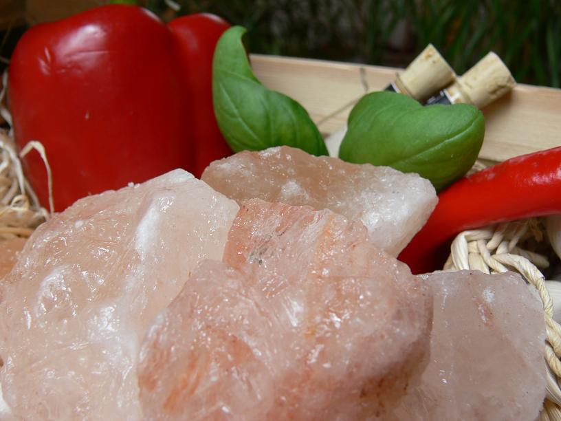 Salz aus Himalaja Ausläufer Steine 1kg