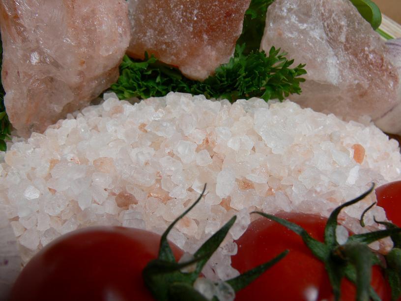 Salz aus Gebirgs Ausläufer Granulat 1kg