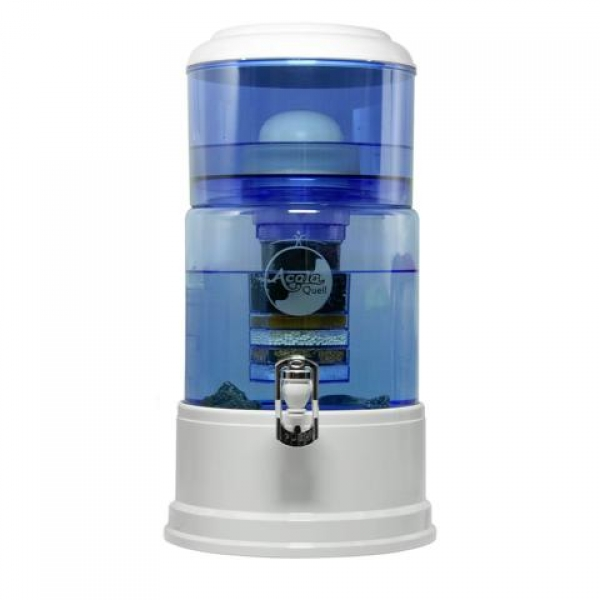 AcalaQuell® Grande: blau /  weiß