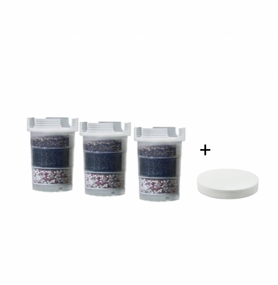 1/2 Jahrespaket Mikroschwamm für AcalaQuell® Kannen Wasserfilter